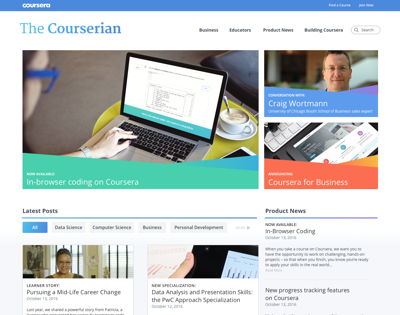 coursera blog