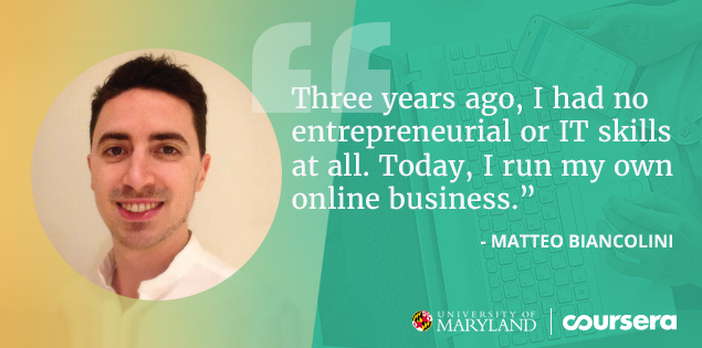 From Finance Professional to Online Entrepreneur