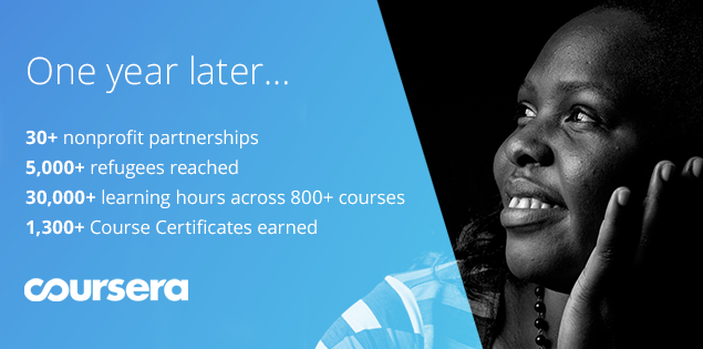 Coursera for Refugees: Reflecting on our First Year