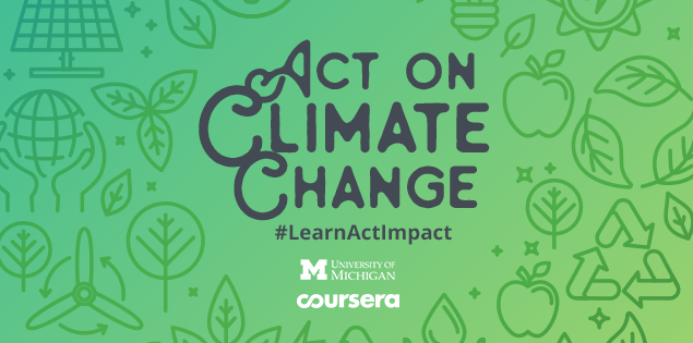 Want to take action on climate change? The University of Michigan has a course to help
