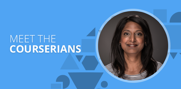 "Meet the Courserians: Angelie Agarwal, ""working parents welcome"""