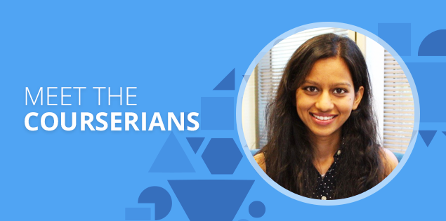 "Meet the Courserians: Priya Gupta, ""education is a path to freedom"""