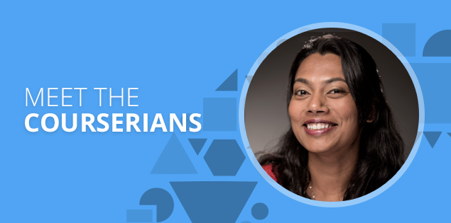 "Meet the Courserians: Janani Subramanian, ""in pursuit of truth"""