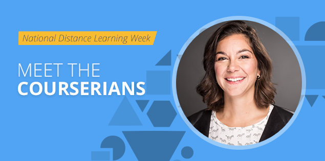 "Meet the Courserians: Andreina Parisi-Amon, ""Distance education can open doors"""