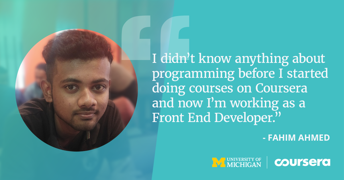 Fahim Discovers his Passion for Programming