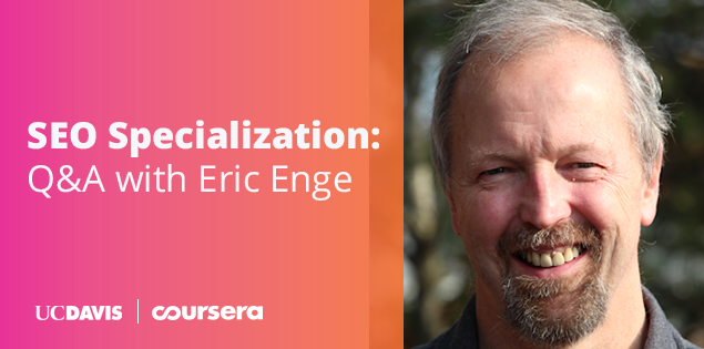 SEO Specialization: Q&A with Eric Enge