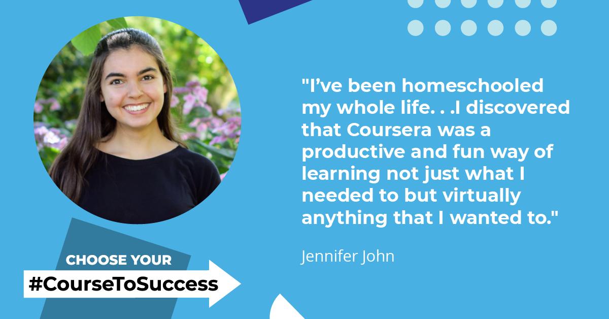 Learner Spotlight: Jennifer John