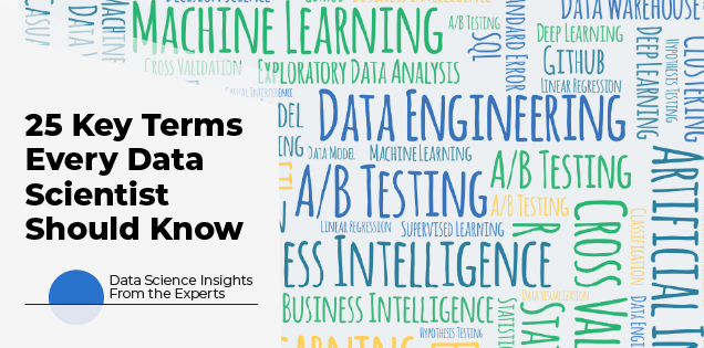 25 Terms Every Data Scientist Should Know