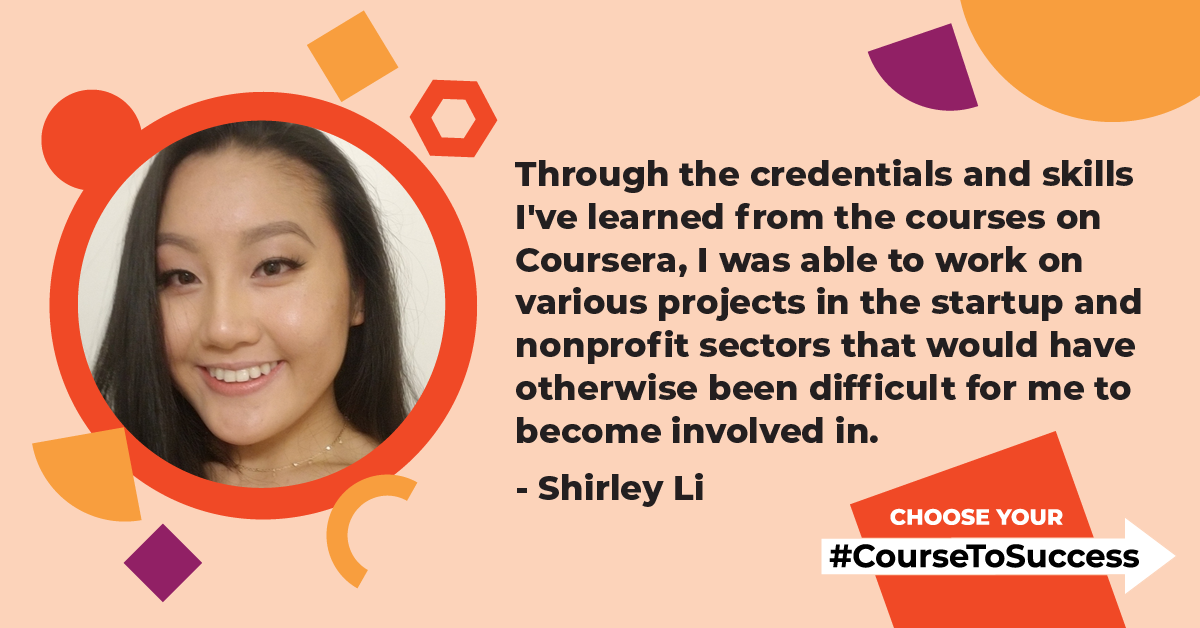 Learner Spotlight: Shirley Li