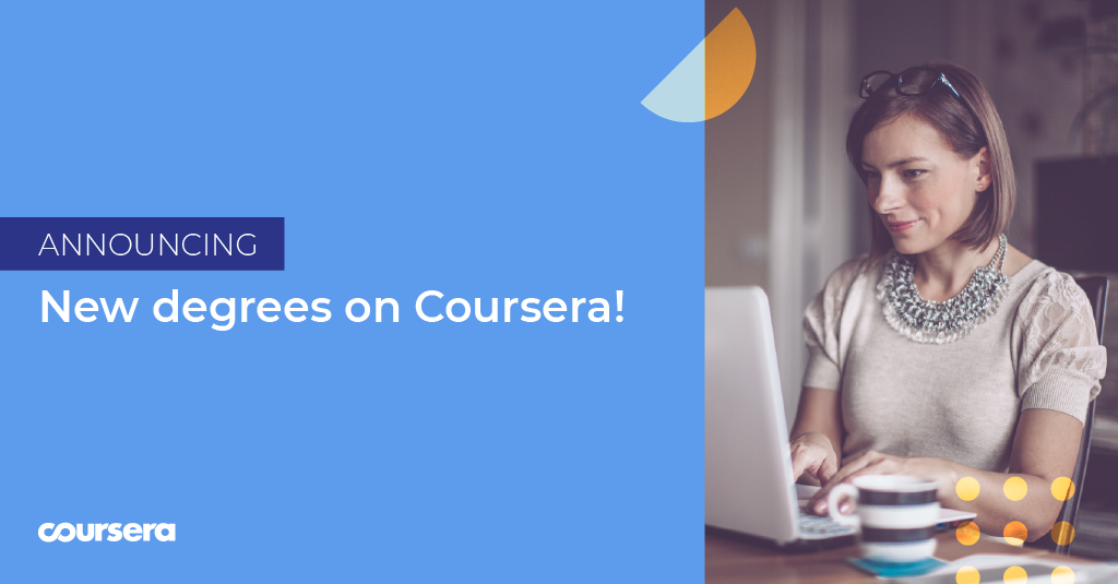 Coursera Announces Accelerated Degree Momentum at 2019