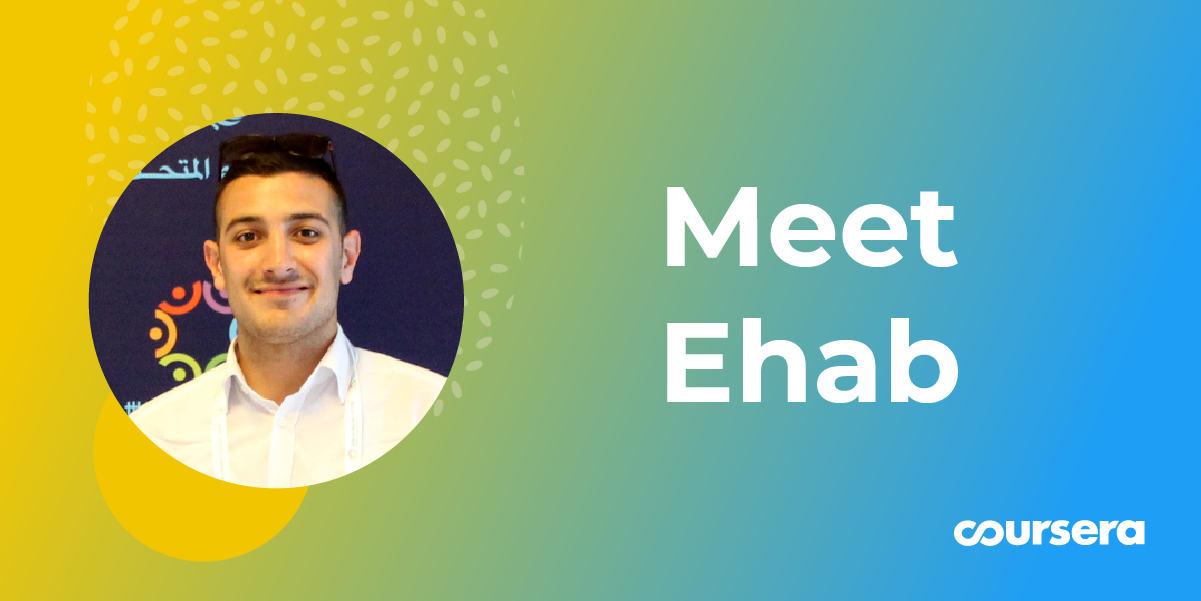 Meet Ehab: A Peace Advocate Building a New Life in Germany