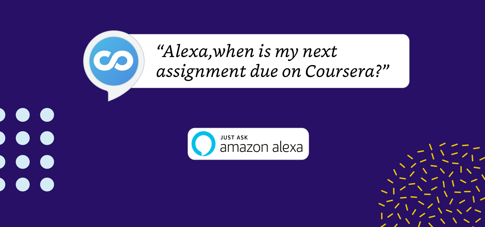 Coursera Introduces Amazon Alexa Skill to Support Learning Goals