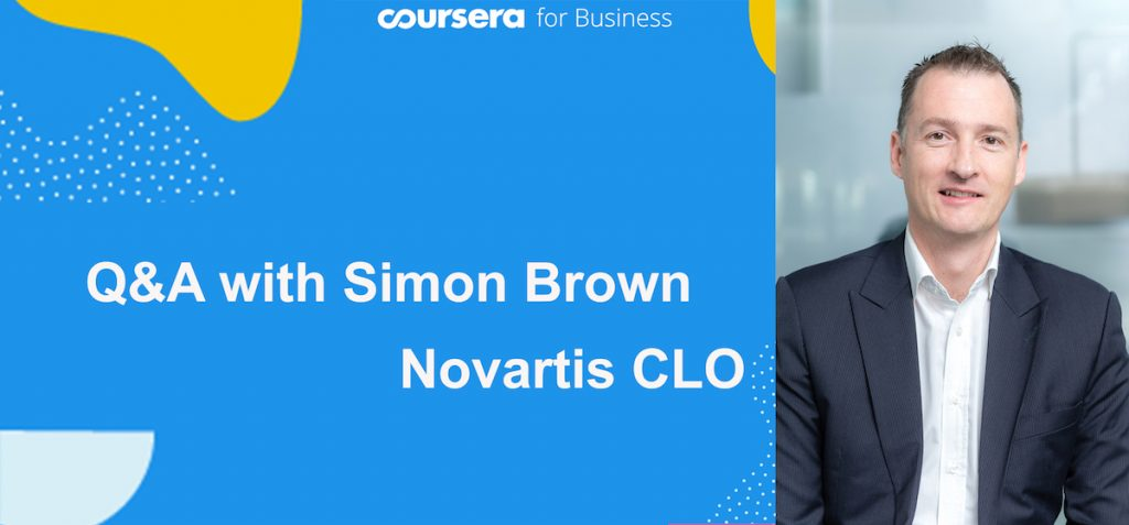 Exploring curiosity with Simon Brown, Chief Learning Officer at Novartis