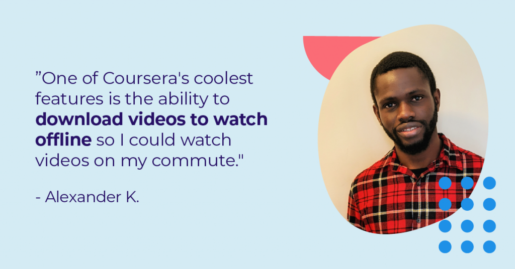 How Alexander advanced his IT career with a Professional Certificate
