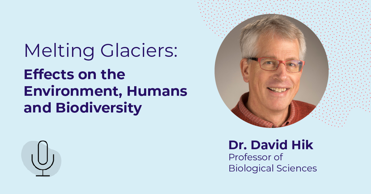 Melting Glaciers: Effects on the Environment, Humans, and Biodiversity