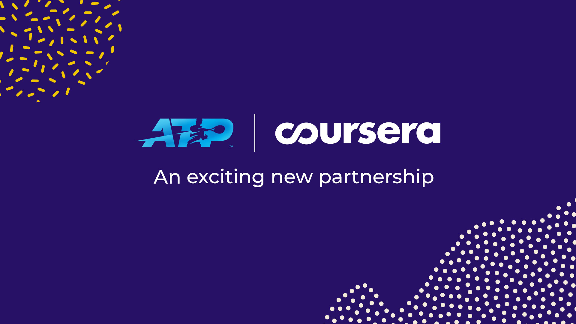 Coursera Partners with ATP To Help Players Learn New Skills