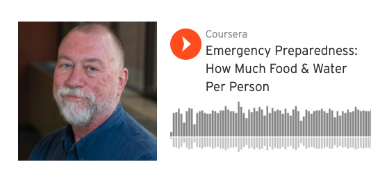 Emergency Preparedness: How Much Food & Water Per Person