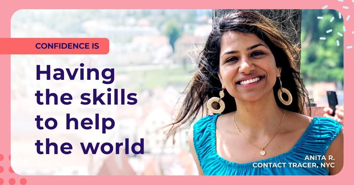 Meet Anita: Lifelong Learner, Contact Tracer