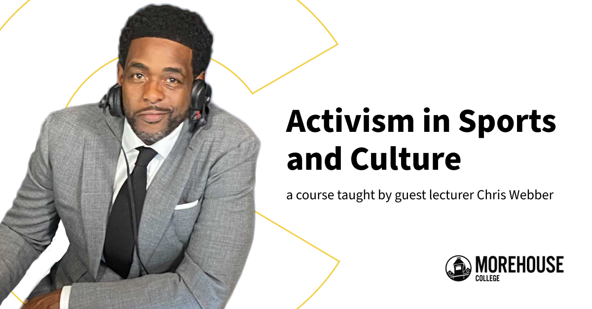 Our interview with 5-time NBA All-Star Chris Webber about his Sports Activism online course, new on Coursera