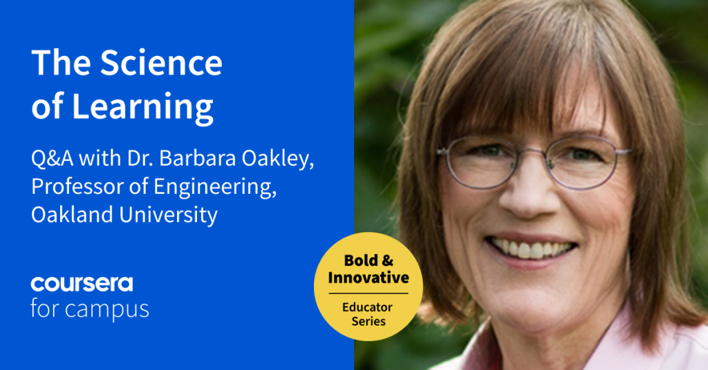 Connecting the Dots: Dr. Barbara Oakley on the Science of How We Learn